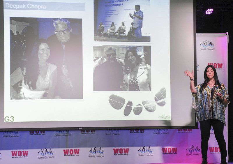 Susan at WOW Event